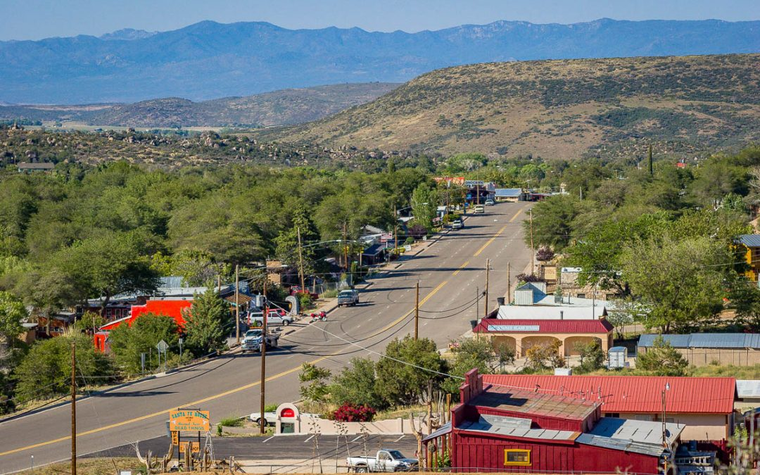 Wickenburg to Prescott