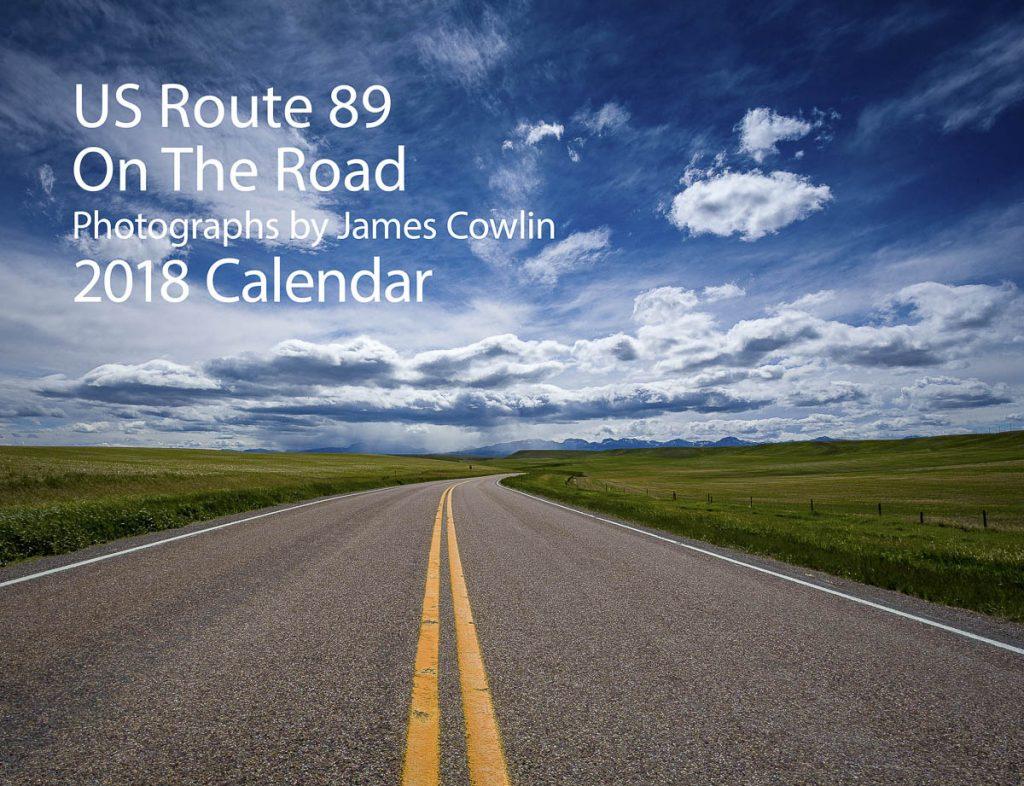 US 89 2018 Calendar Cover