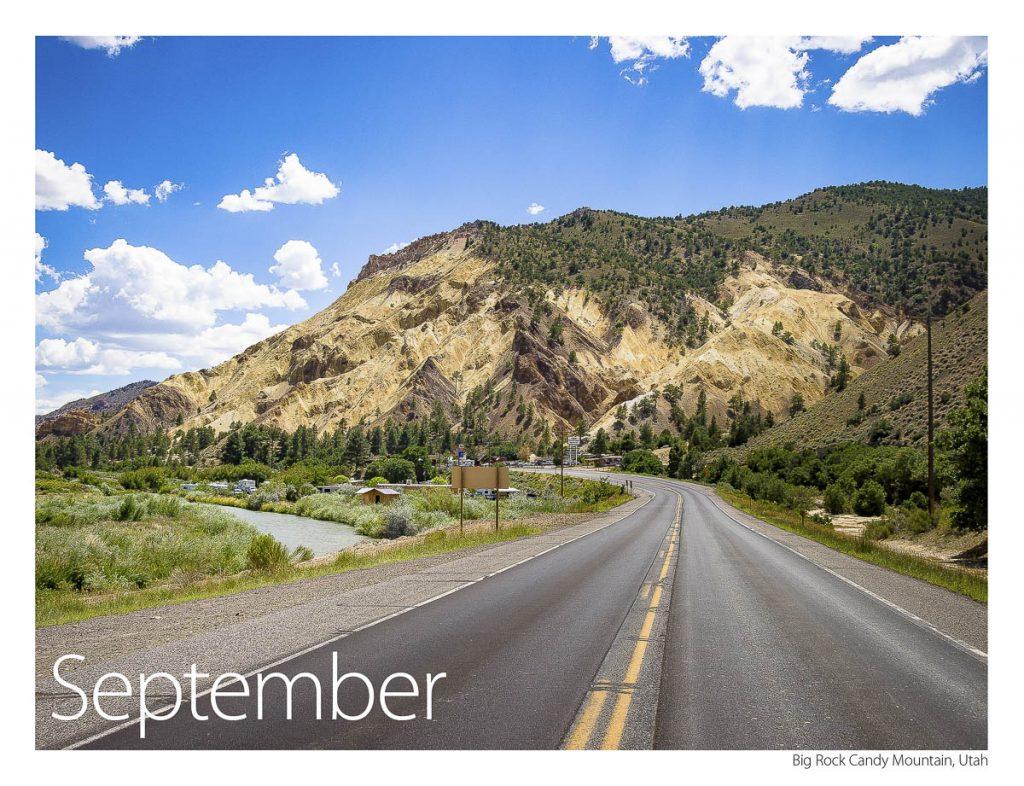 US 89 2018 Calendar September