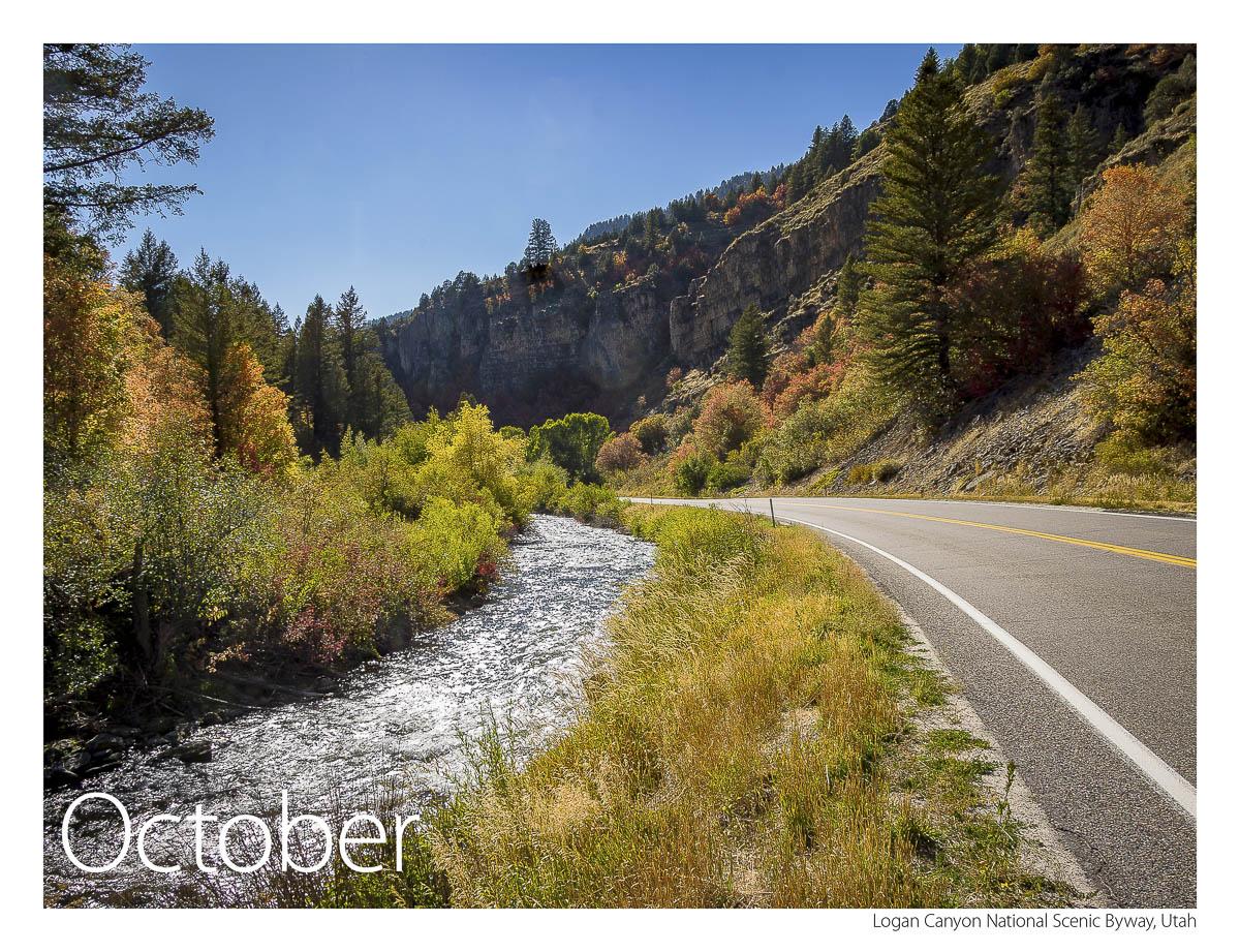US 89 2018 Calendar October