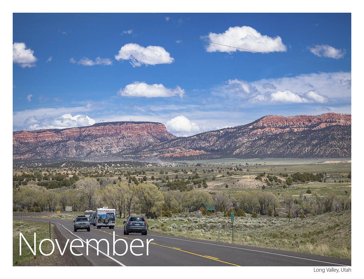 US 89 2018 Calendar November