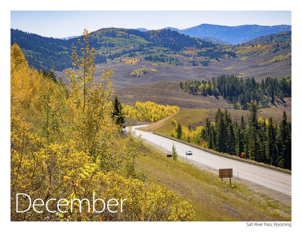 US 89 2018 Calendar December