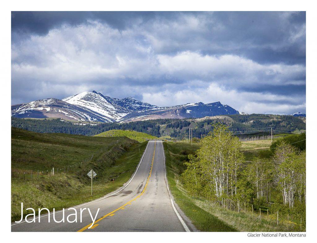US 89 2018 Calendar January