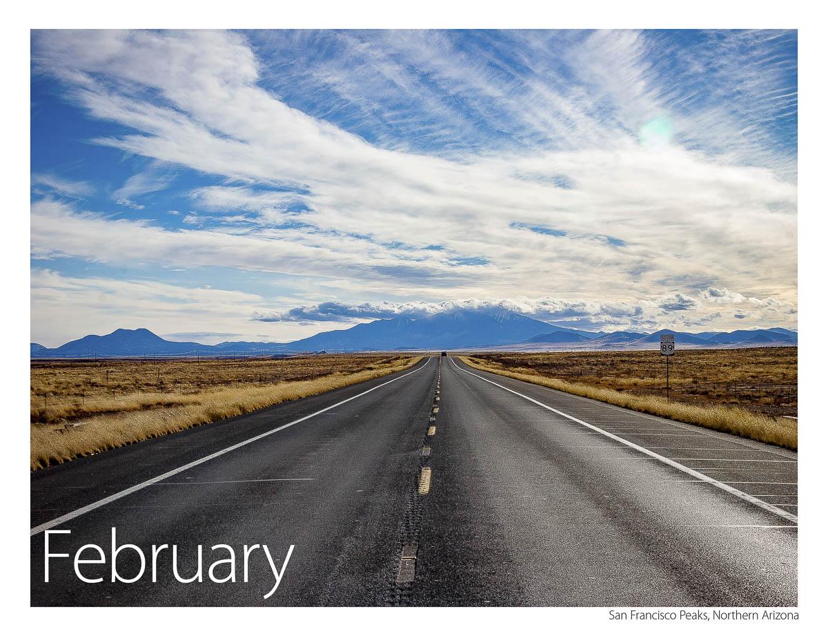 US 89 2018 Calendar February