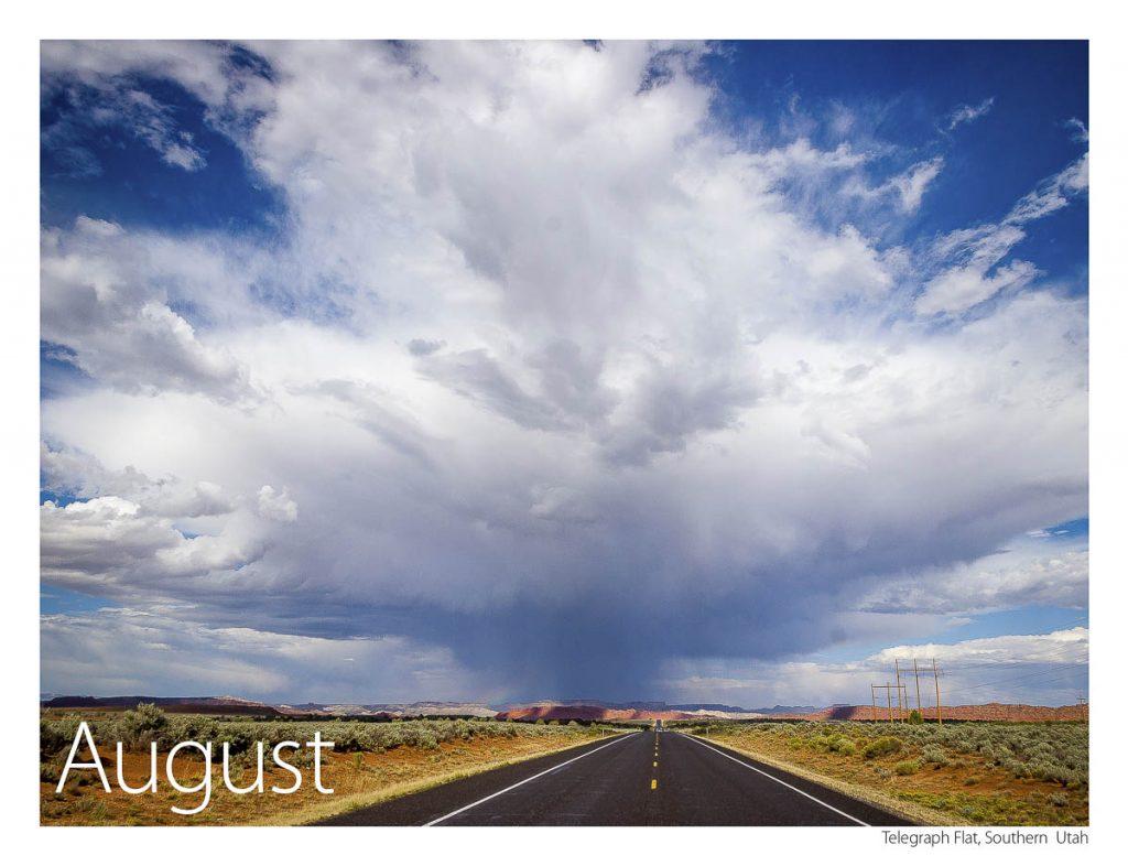US 89 2018 Calendar August