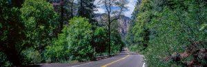 AZ 89A in Oak Creek Canyon