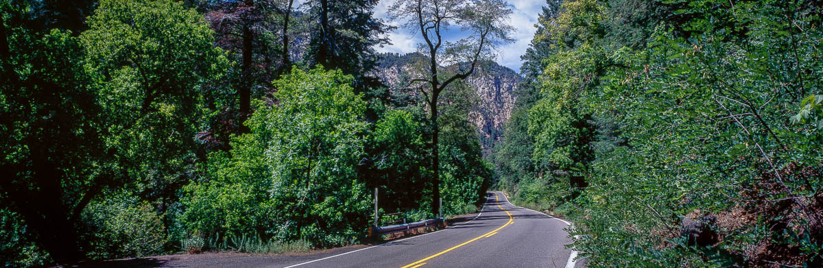 AZ 89A in Oak Creek Canyon
