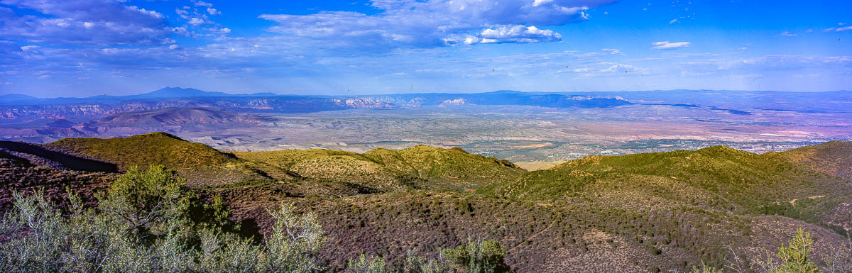 The Verde Valley from Mingus Mountain