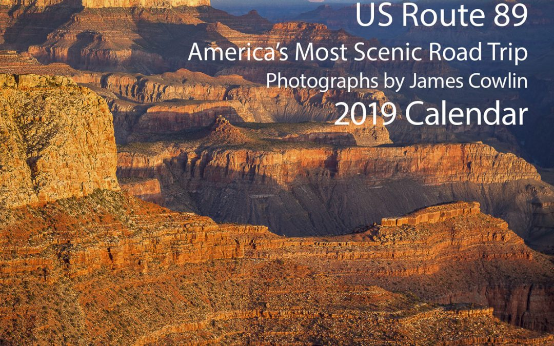 US Route 89 2019 Calendar