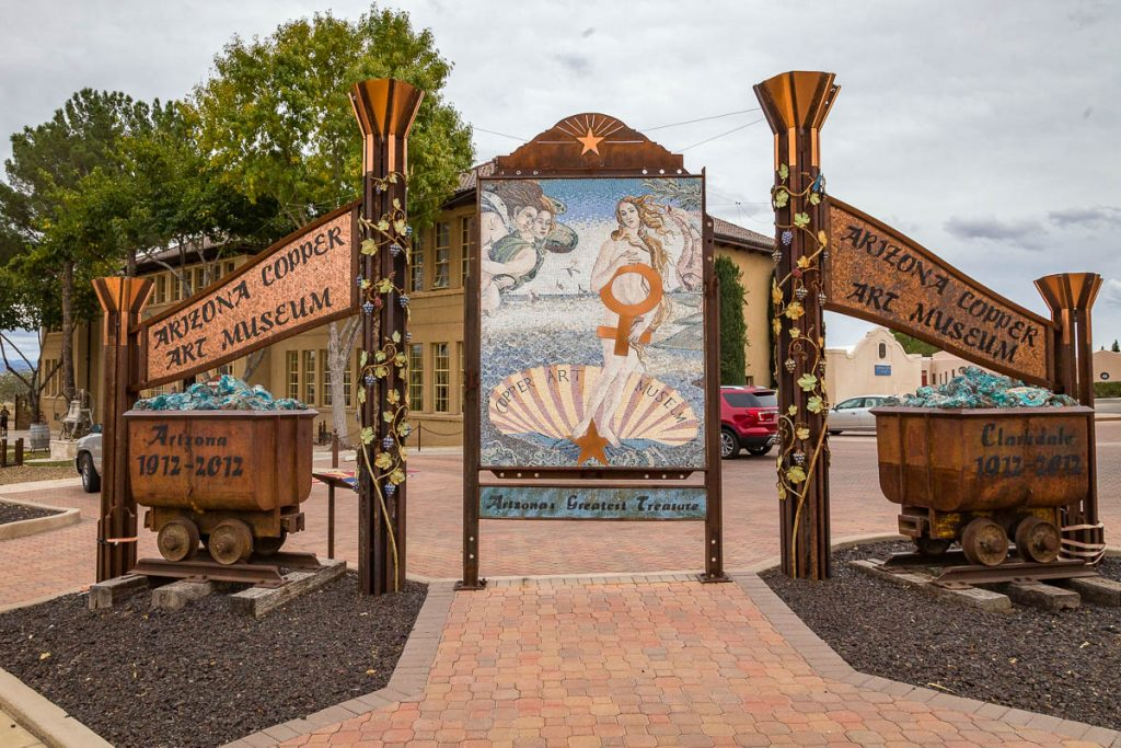 Arizona Copper Art Museum, Clarkdale, AZ