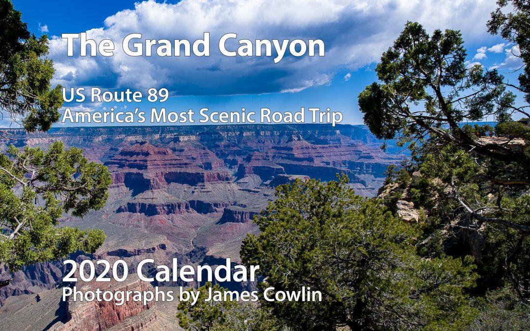 2020 Calendar—The Grand Canyon