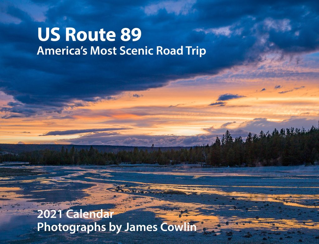 US Route 89 2021 Calendar Cover