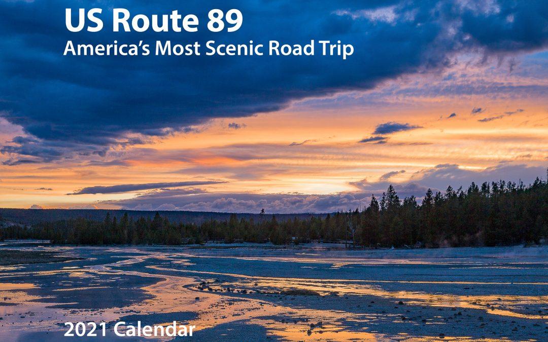 US Route 89 2021 Calendar Cover