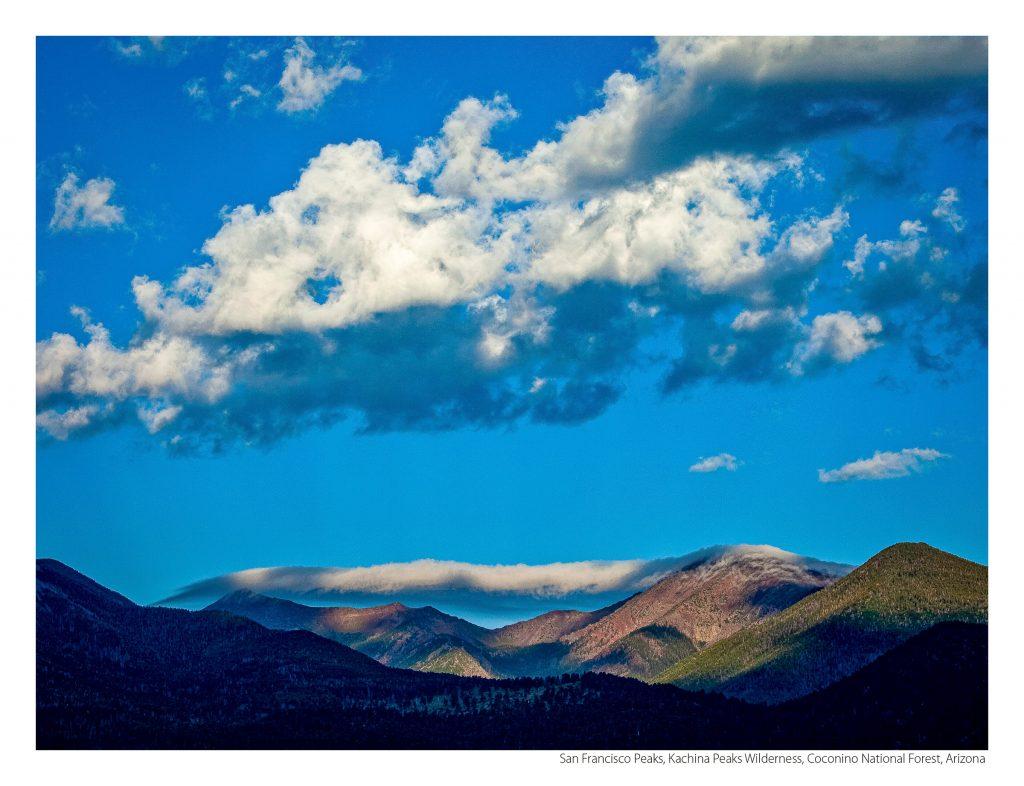 US Route 89 2021 Calendar January-San Francisco Peaks, Kachina Peaks Wilderness, Coconino National Forest, Arizona
