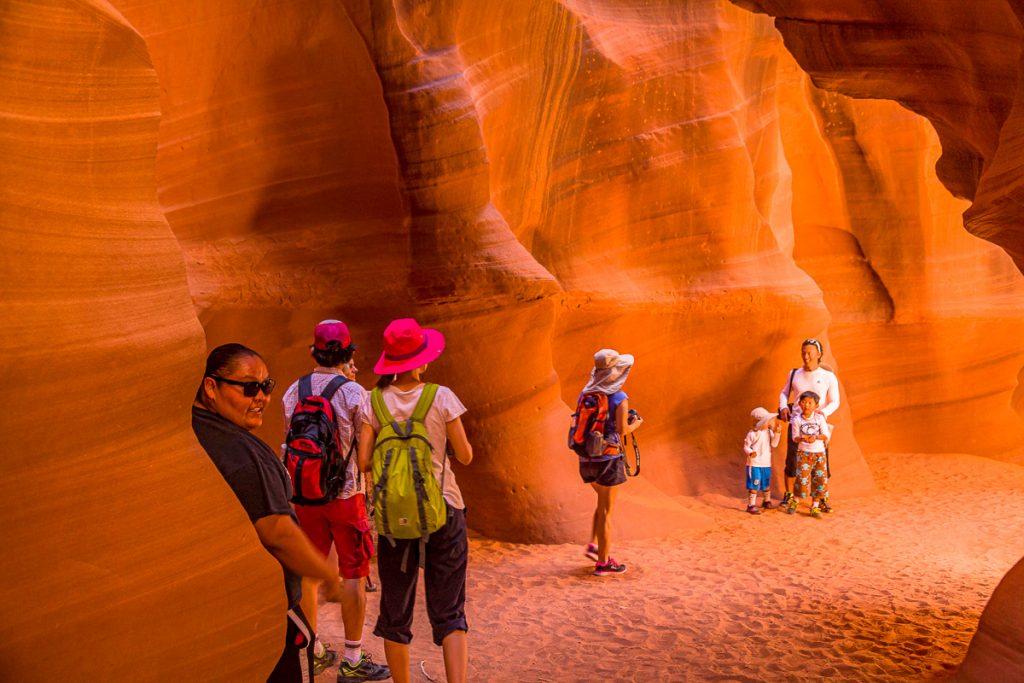 Antelope Canyon Tourists